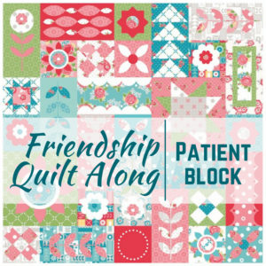 Patient Quilt Block | Friendship Quilt