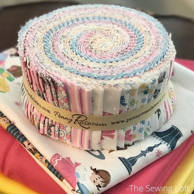 Petite Treat Fabric Roll