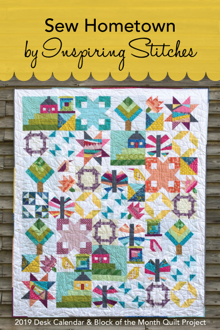 Sew Hometown Quilt Pattern | Inspiring Stitches