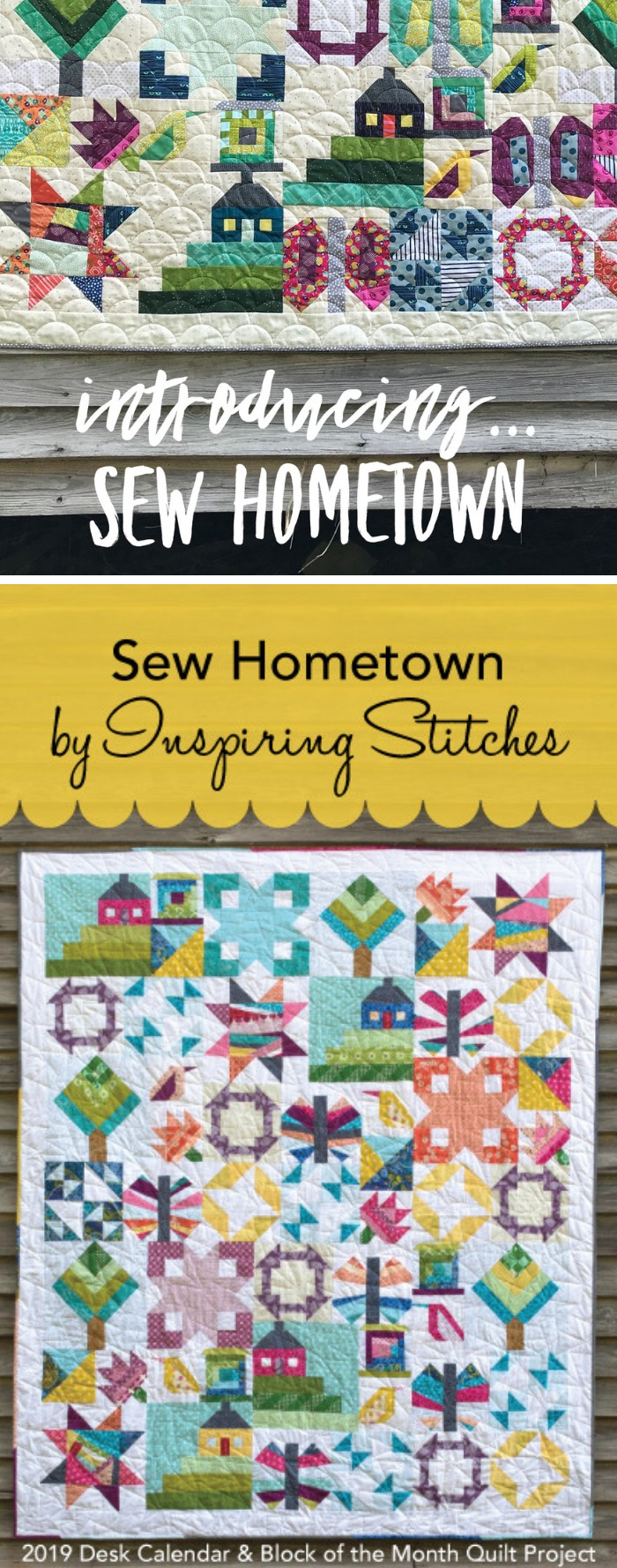 Sew Hometown Quilt L The Sewing Loft