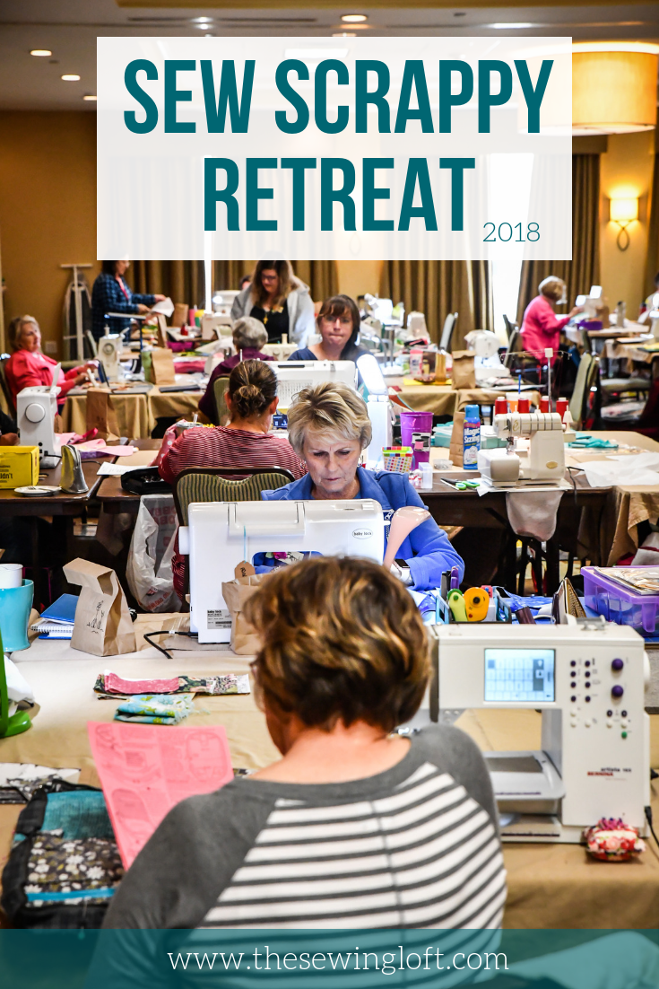 Sew Scrappy Sewing Retreat was a blast! From making new friends to sewing the night away, It was more than I imagined! Can not wait for the next one.