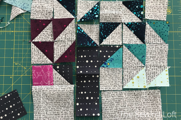 Willow Tree Quilt Block Layout | Heartland Heritage