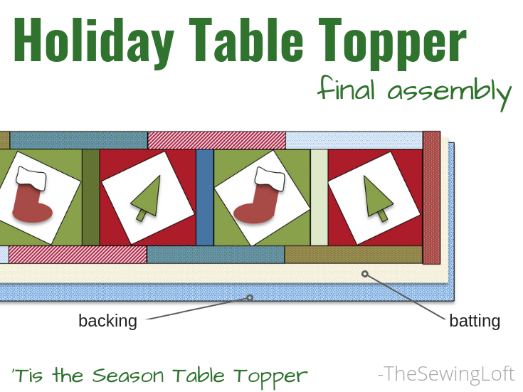Create a whimsical holiday table topper while learning a new twist on block making. Including applique techniques, free motion stitching and decorative stitching in the Tis the Season Quilt class.