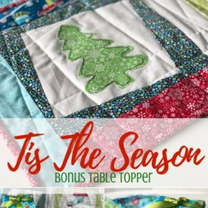 Holiday Table Topper | Tis The Season Bonus