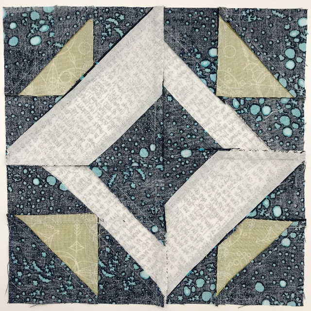 Spotlight Quilt Block from Heartland Heritage