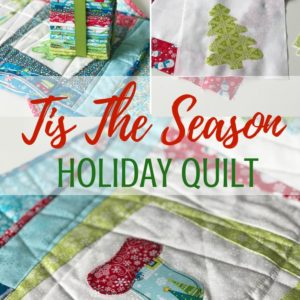 Holiday Quilt Pattern | Tis the Season Video Class