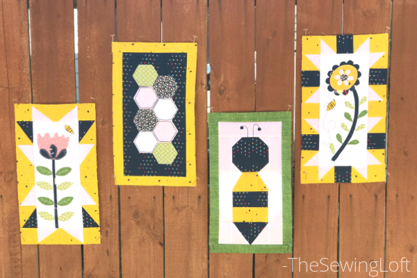 Save the Bees Quilt Along