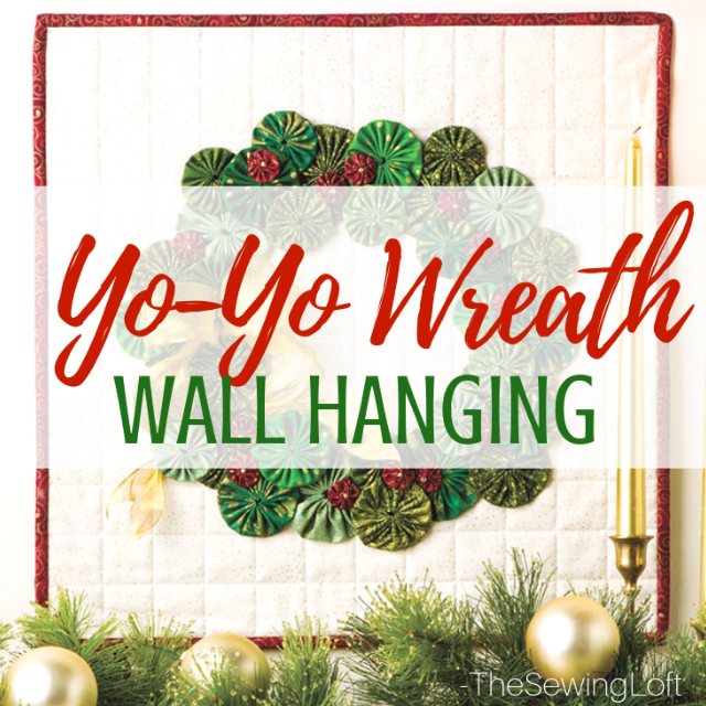 Yo Yo Wreath Wall Hanging | Video Class