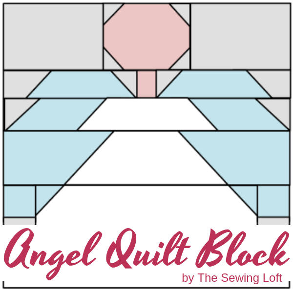 Celebrate the holidays with this Angel Quilt Block. Block comes in 2 sizes and can be used in so many different projects. From home decor to quilts.
