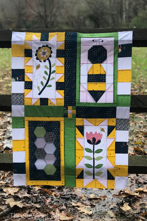 Save the Bees Quilt Top | Free Pattern