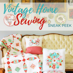 Vintage Home Sewing Book Tour