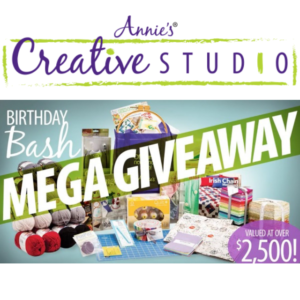 Enter to win the Mega Birthday Bash Giveaway from Annie's Creative Studio