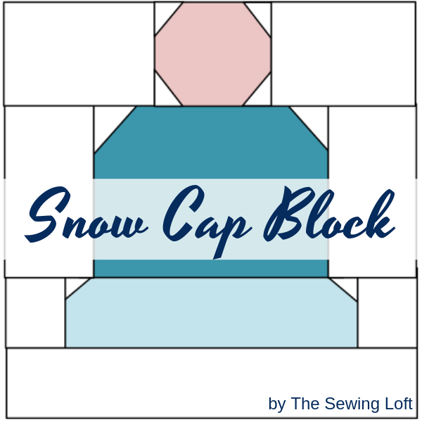Snow Cap Quilt Block | Blocks 2 Quilt Pattern