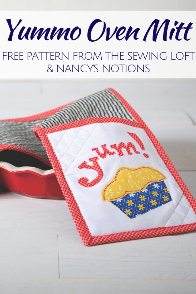 Yummo Oven Mitt | Free Pattern