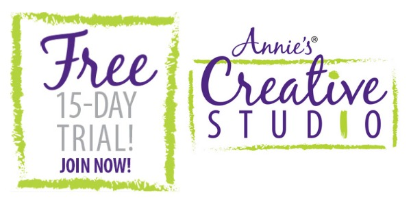 Start your free trial membership to Annie's Creative Studio and start learning today!