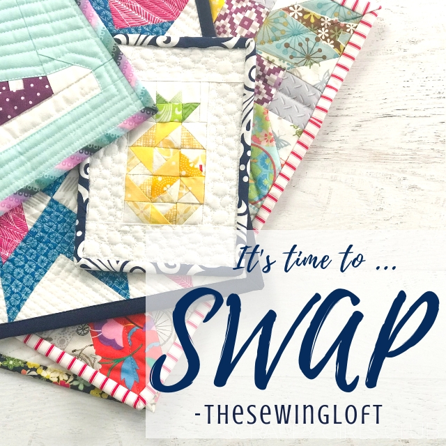Mini Quilt Swap 2019 | The Sewing Loft