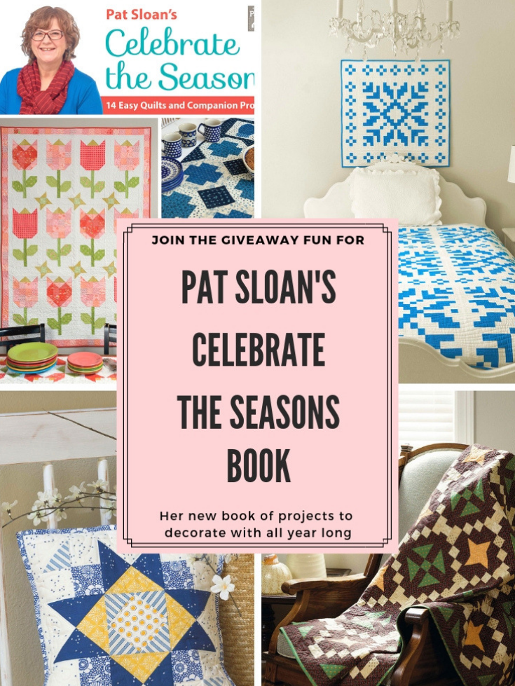 Celebrate the Seasons with this adorable Summers Nest wall hanging from Pat Sloan's latest book.
