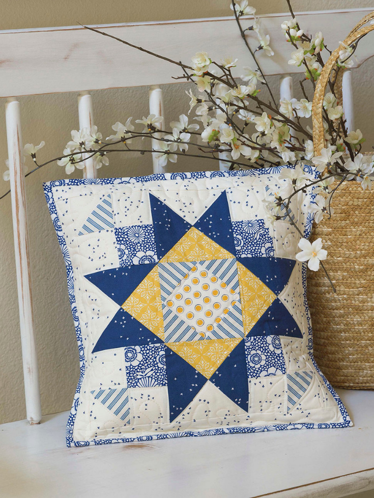 Summer Sky Pillow | Celebrate the Seasons by Pat Sloan