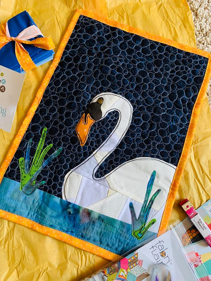 Mini Quilt SWAP partner package | The Sewing Loft