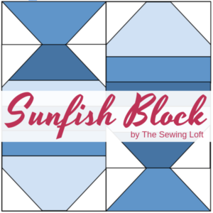 Sunfish Quilt Block | The Sewing Loft Blocks 2 Quilt