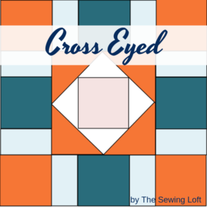 easy to make block that is perfectly designed for using your leftover fabric scraps. Great for all skill levels.