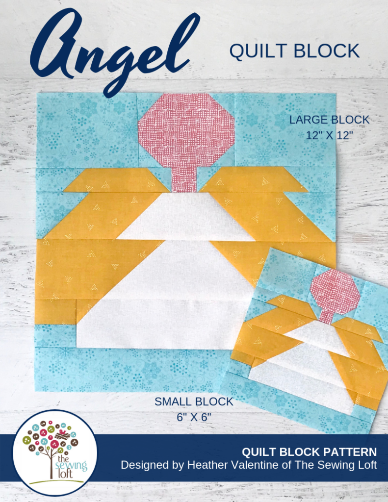 Christmas Angel Quilt Block | The Sewing Loft