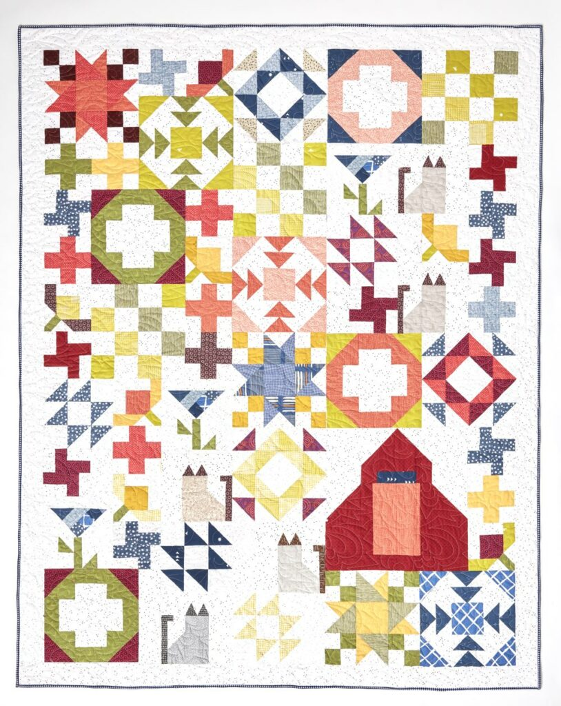 Carefree Picnic Quilt Pattern | Inspiring Stitches