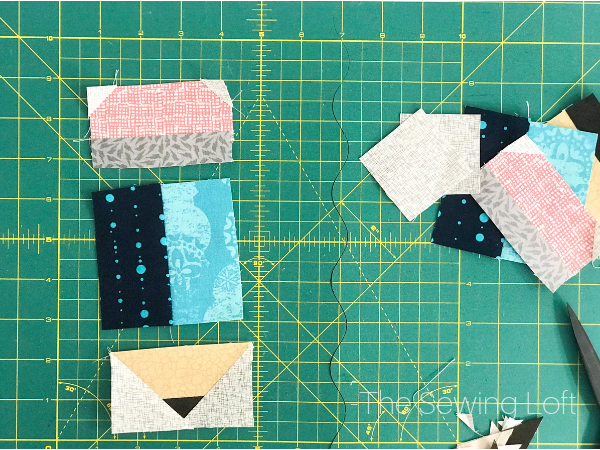 The Pencil Point Quilt block is one of many patterns included in the Blocks 2 Quilt series. Throughout, you can learn the basics of patchwork quilting while creating whimsical quilt blocks.