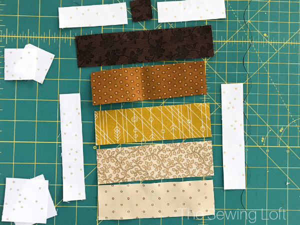 Acorn Quilt Block by The Sewing Loft