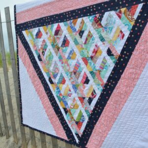 Scrappy Triangle Quilt | The Sewing Loft