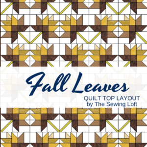 Falling Leaves Easy Quilt Idea with Blocks 2 Quilt