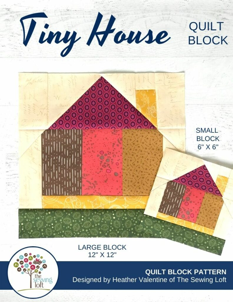 Tiny House Quilt | The Sewing Loft