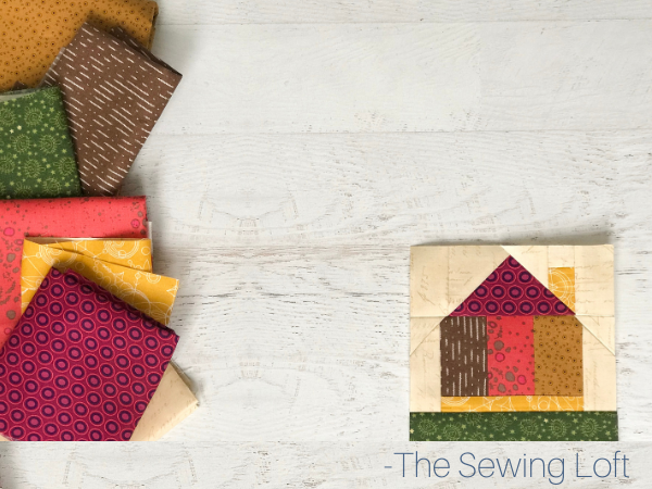 Tiny House Quilt Fabric | The Sewing Loft