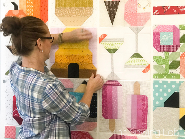 Blocks2Quilt Design Wall | The Sewing Loft