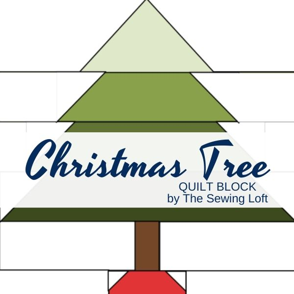 Christmas Tree Quilt | The Sewing Loft