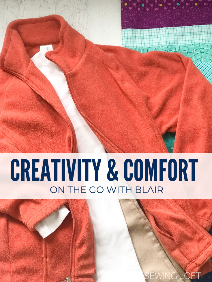 Creative Comfort on the go with Blair.com