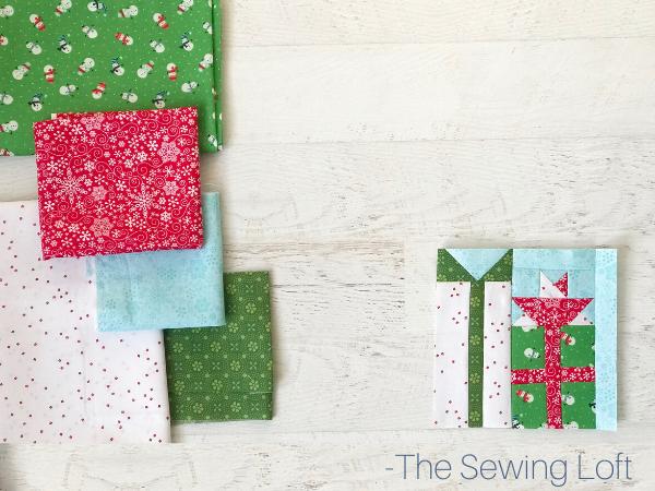 Perfect Presents Quilt Block | The Sewing Loft