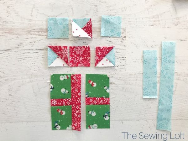 Add a few pretty presents to your Christmas quilt with this adorable block from The Sewing Loft.