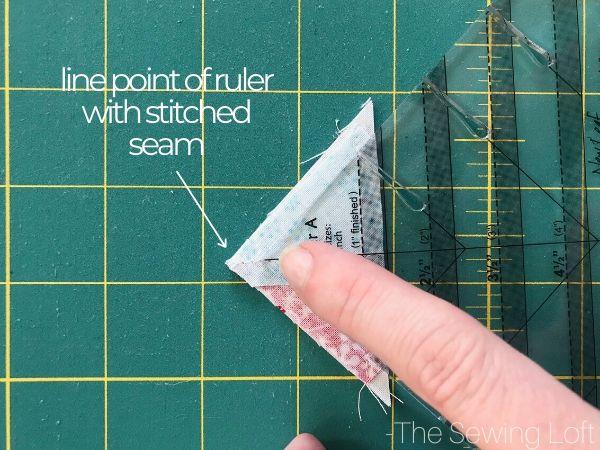 Pretty Presents Quilt Block Quick Tip