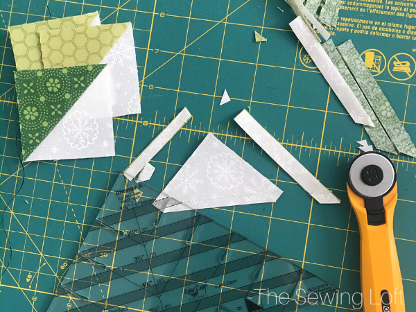 Holiday Wreath Quilt Block | The Sewing Loft