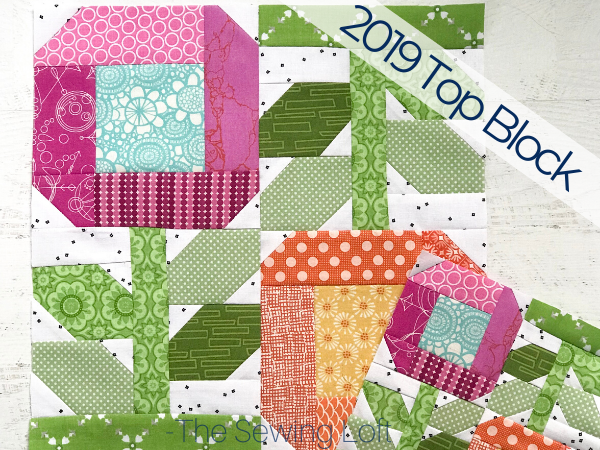 It's no wonder the colorful Zinnia Flowers made the top quilt block of 2019. The simple patchwork construction makes it perfect for quilters to play with their scraps.