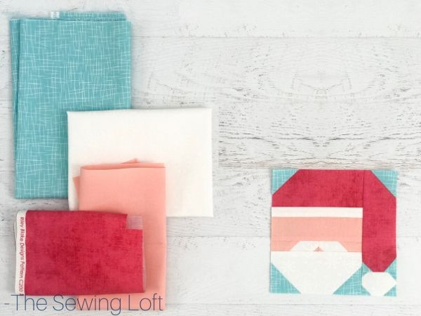 Santa Claus Quilt | The Sewing Loft