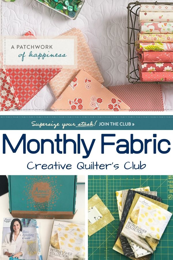Creative Quilter's Fabric Club | Monthly Subscription Unboxing | See first hand what will arrive each month.
