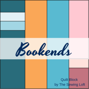 Bookends Quilt Block | The Sewing Loft