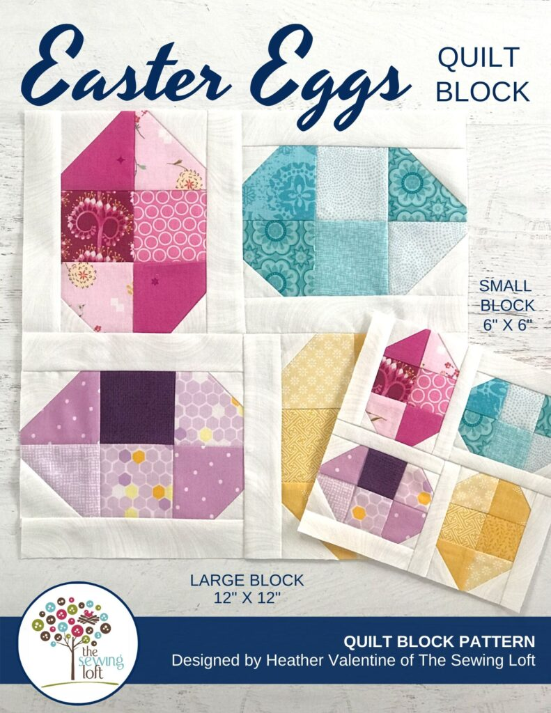 Easter Eggs Quilt | The Sewing Loft