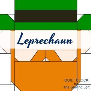Leprechaun Quilt Block | The Sewing Loft