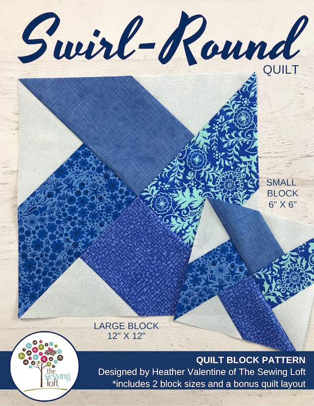 Swirl-Round Quilt Pattern | The Sewing Loft